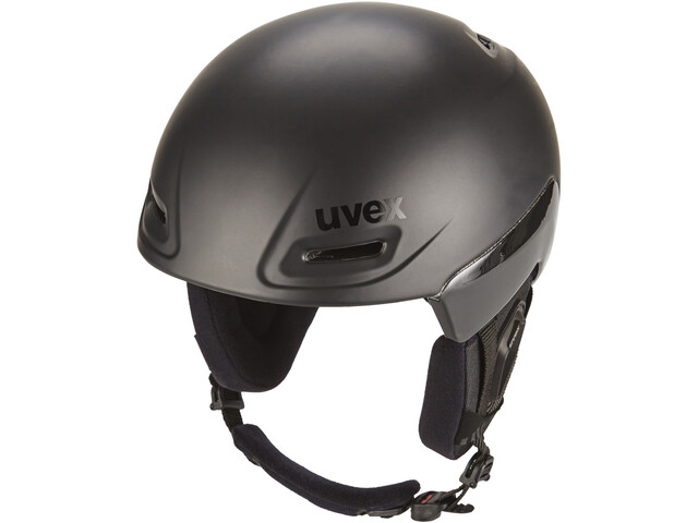 UVEX jimm octo+ Casco, black mat-black shiny